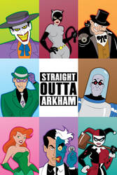 Straight outta Arkham (Gotham's Most Wanted)