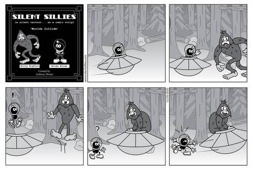 Silent Sillies - Worlds Collide