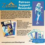 Zemara Patreon Rewards by JK-Antwon