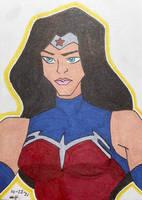 Wonder Woman sketch card (Rosiaro Dawson)