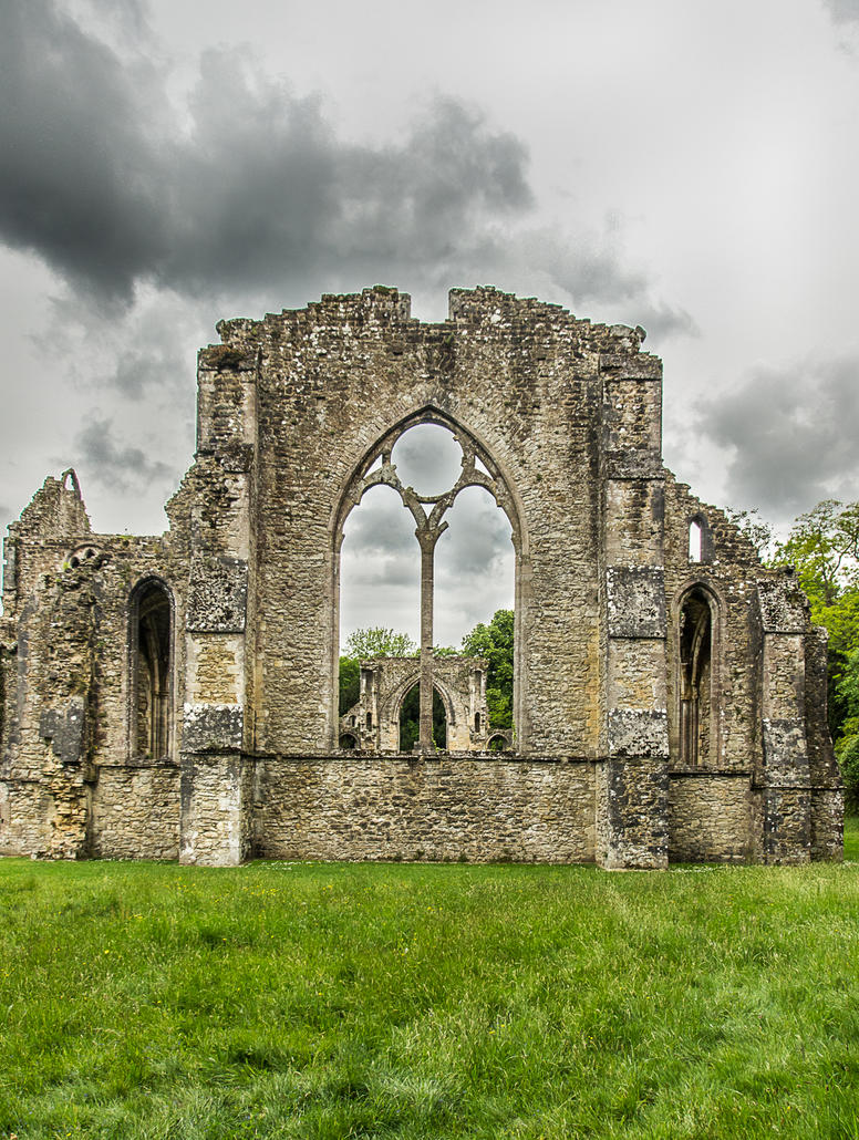 Netley Abbey. by misa2525