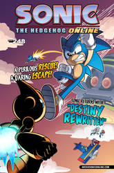 Sonic the Hedgehog Online #248 - Cover by DigimonKaiser411