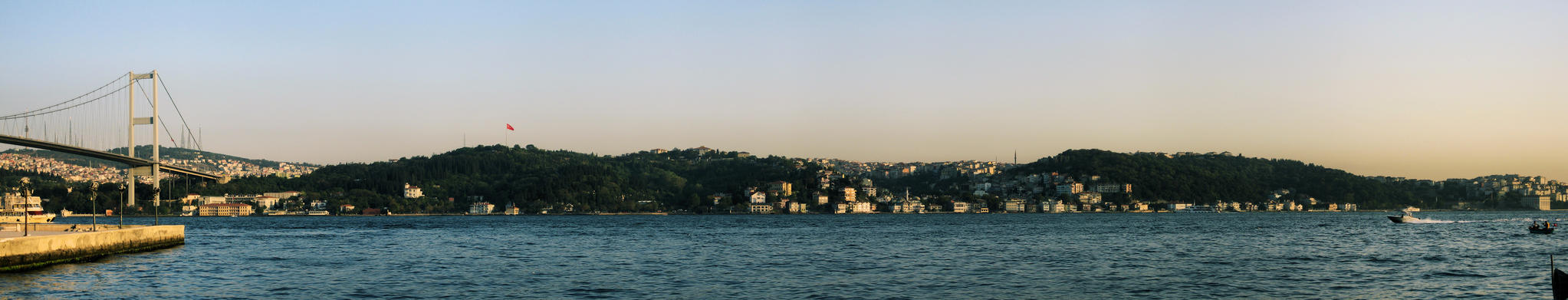 Sunset at Bosphorus by cheyrek