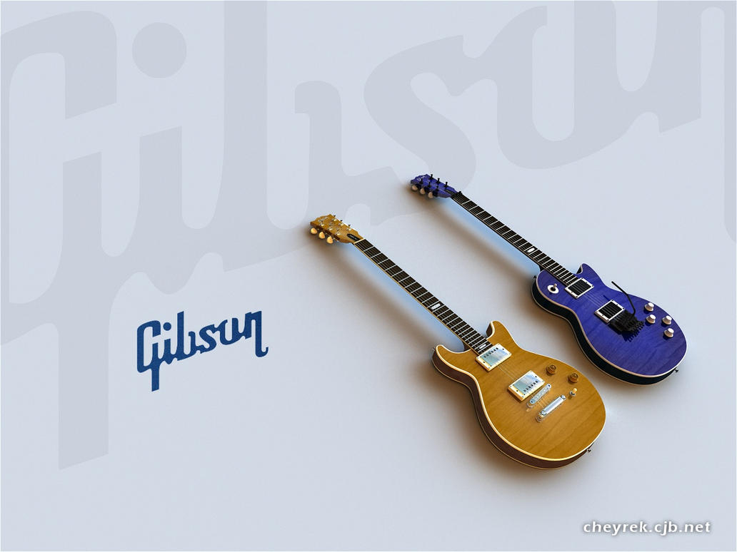 Two Les Pauls by cheyrek