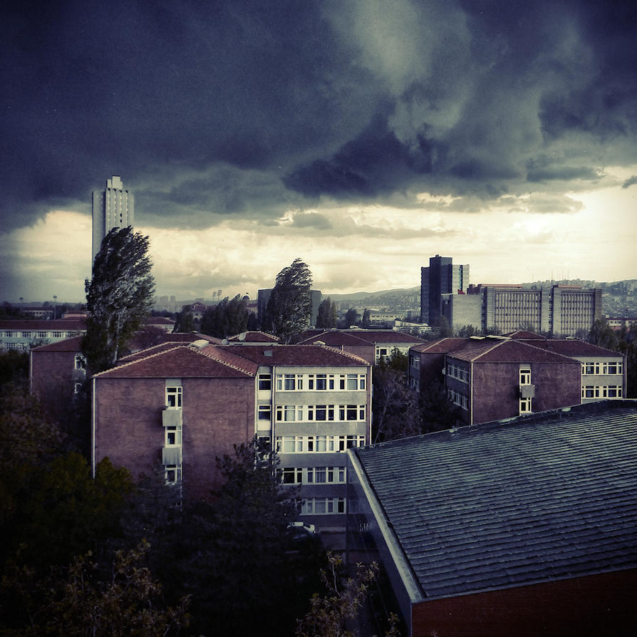 Apocalypse Ankara by cheyrek