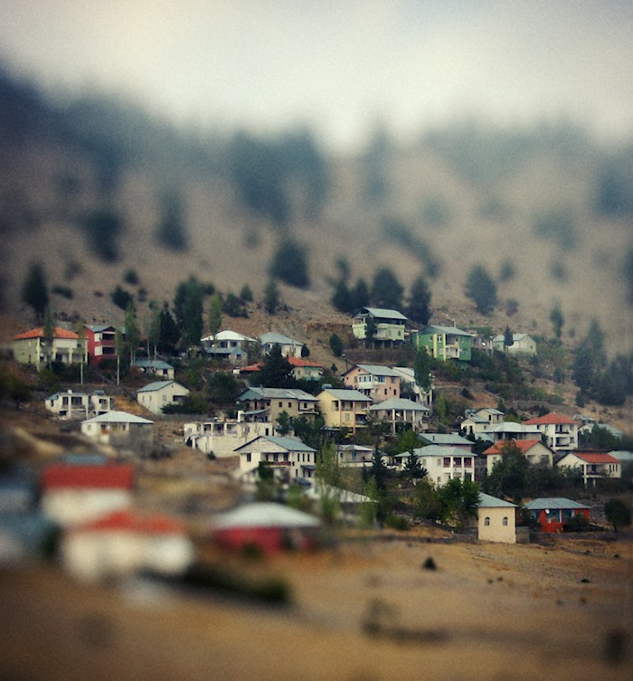 Village Tilt-Shift by cheyrek