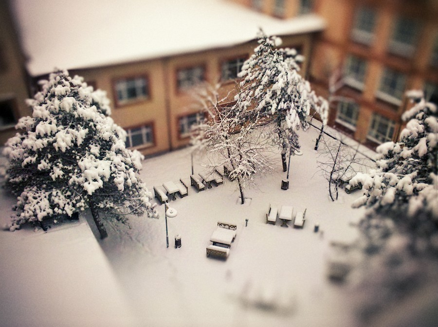 Quad tilt-shift by cheyrek