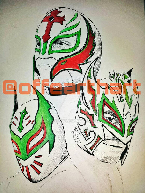 Lucha Libre Lineage by offearth on DeviantArt