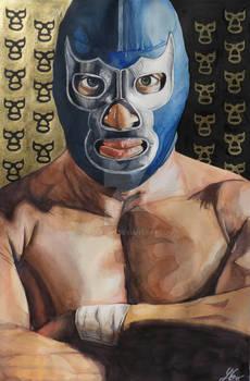 Blue Demon Jr. Art