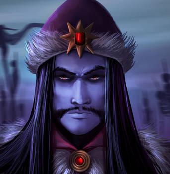 Vlad the Impaler by gildeneye