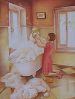 Bath Time by IreneShpak