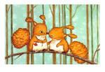 Birthday Squirrels