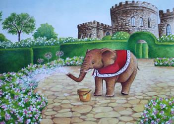 Elephant Prince by IreneShpak