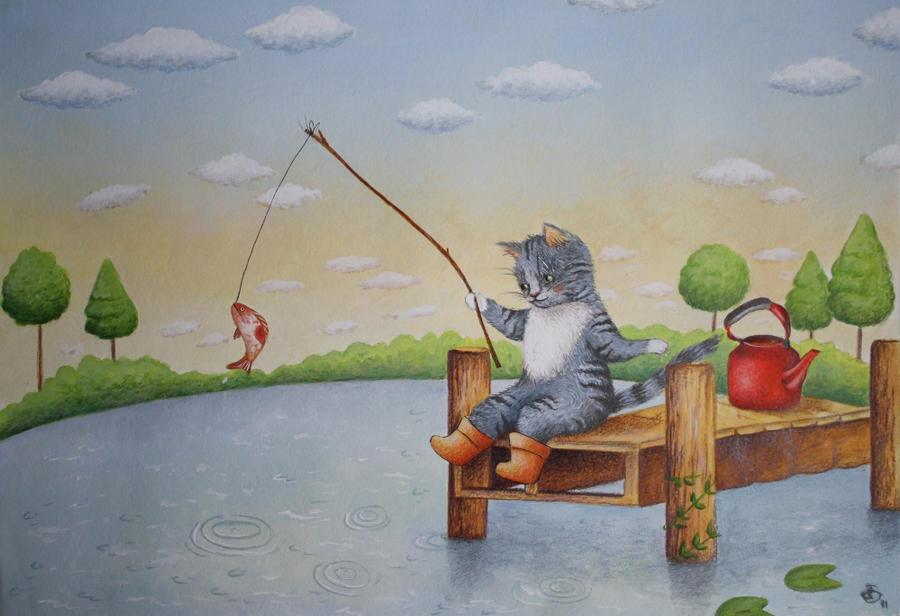 Kettle of Fish by IreneShpak