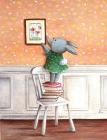 Tillie's New  Painting by IreneShpak