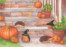 Pumpkin Surprise by IreneShpak
