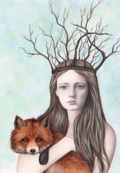 Forest Girl by IreneShpak