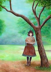 Mori Girl by IreneShpak
