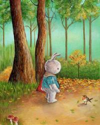 Forest Walk by IreneShpak