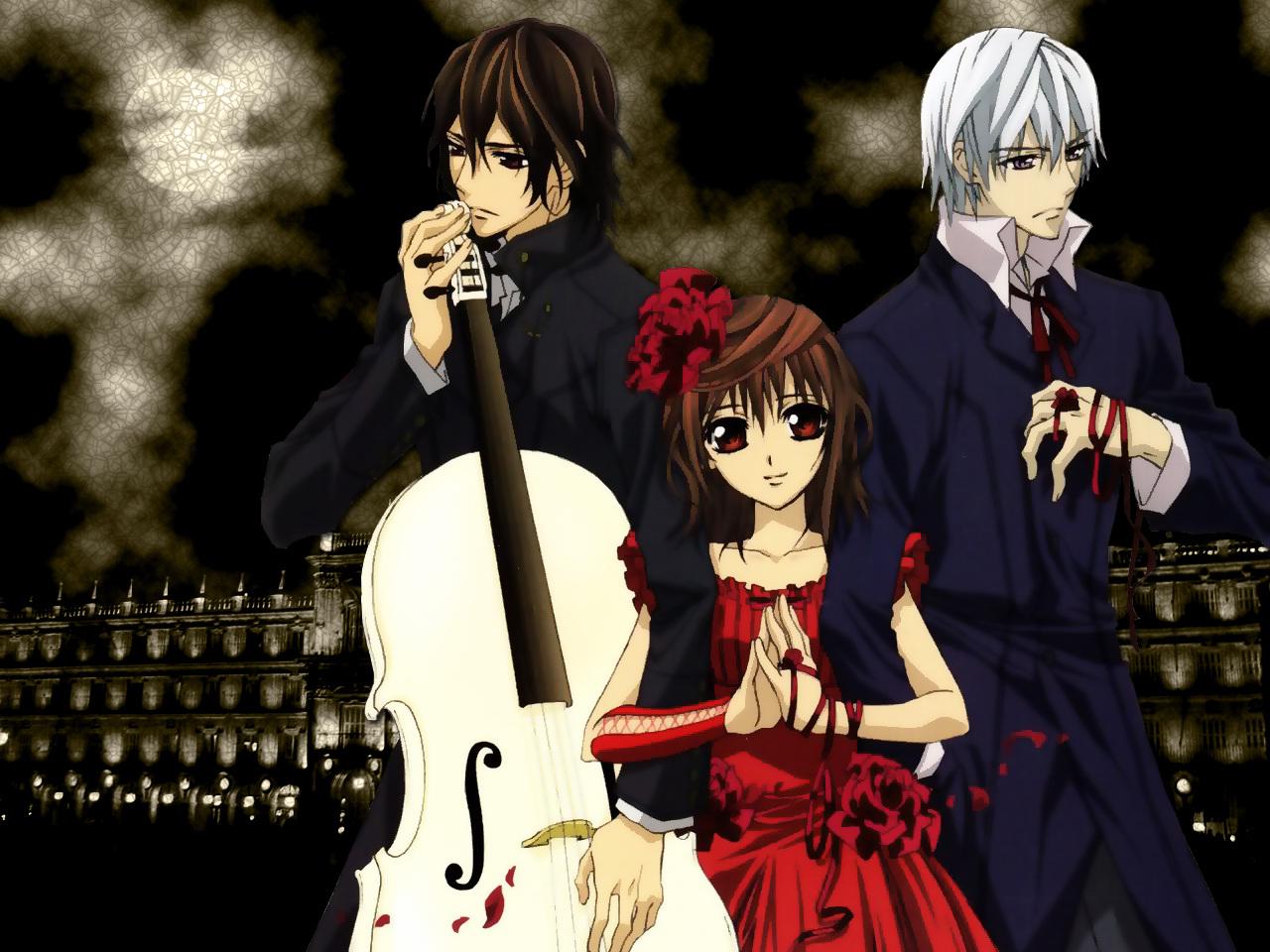 Vampire knight wallpaper 2 by takeshikun2008 on deviantart - Vampire knight anime wallpaper ...