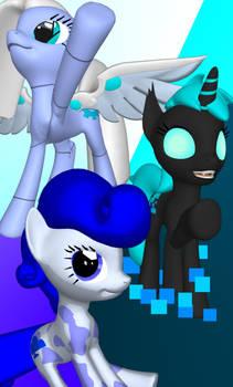 OC Ponies #6 (wallpaper LG G5)