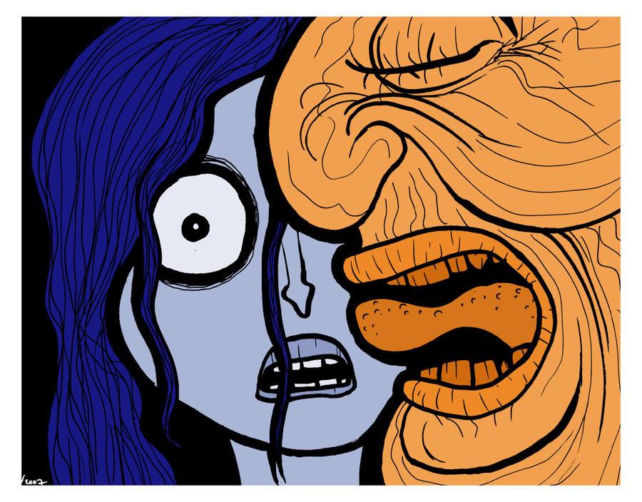 The Orange Man by Velica