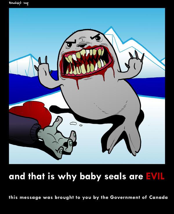 Propaganda:: Baby Seals by Velica
