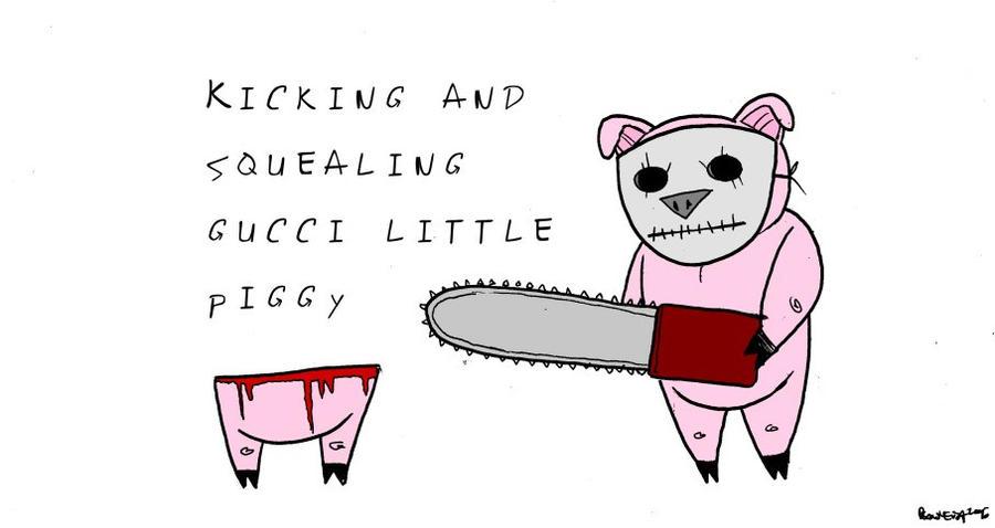 Gucci Little Piggy. by Velica