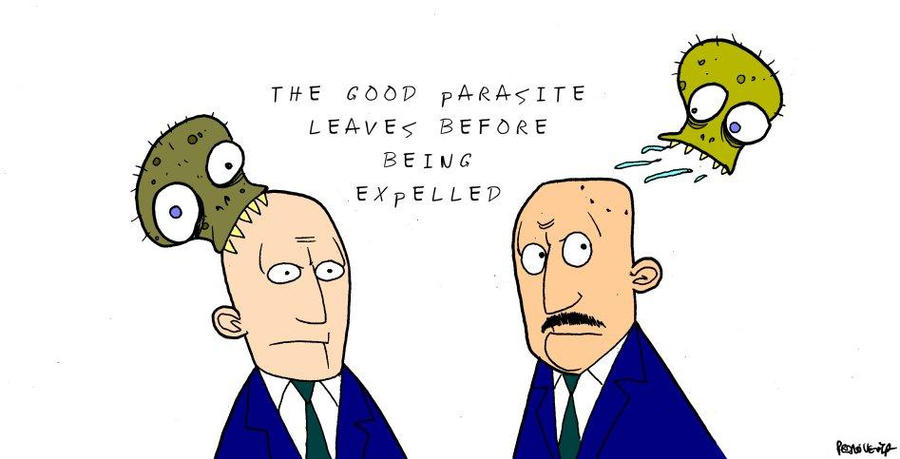 The good parasite. by Velica