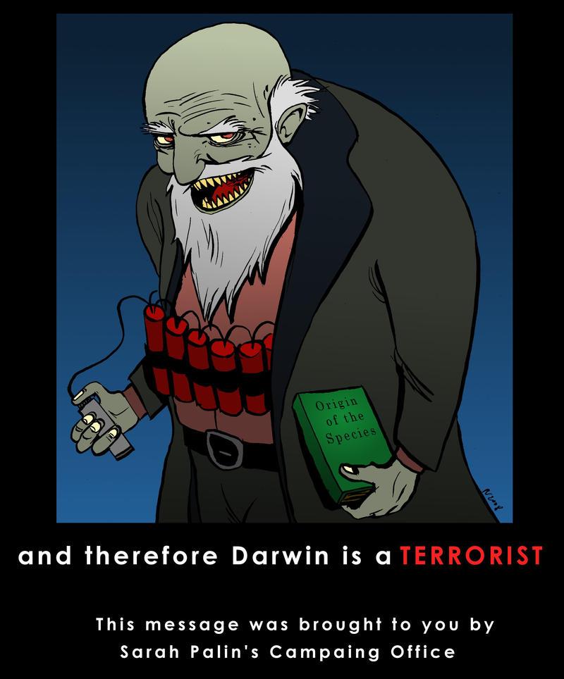 Propaganda:: Darwin by Velica