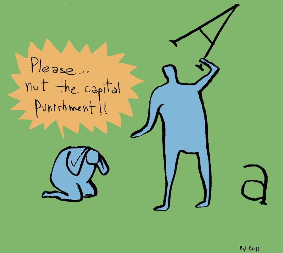 capital punishment by Velica