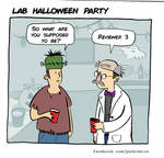 Lab Halloween Party