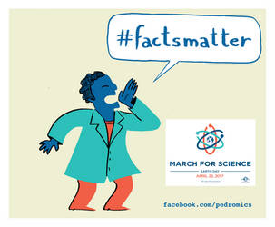March for Science by Velica