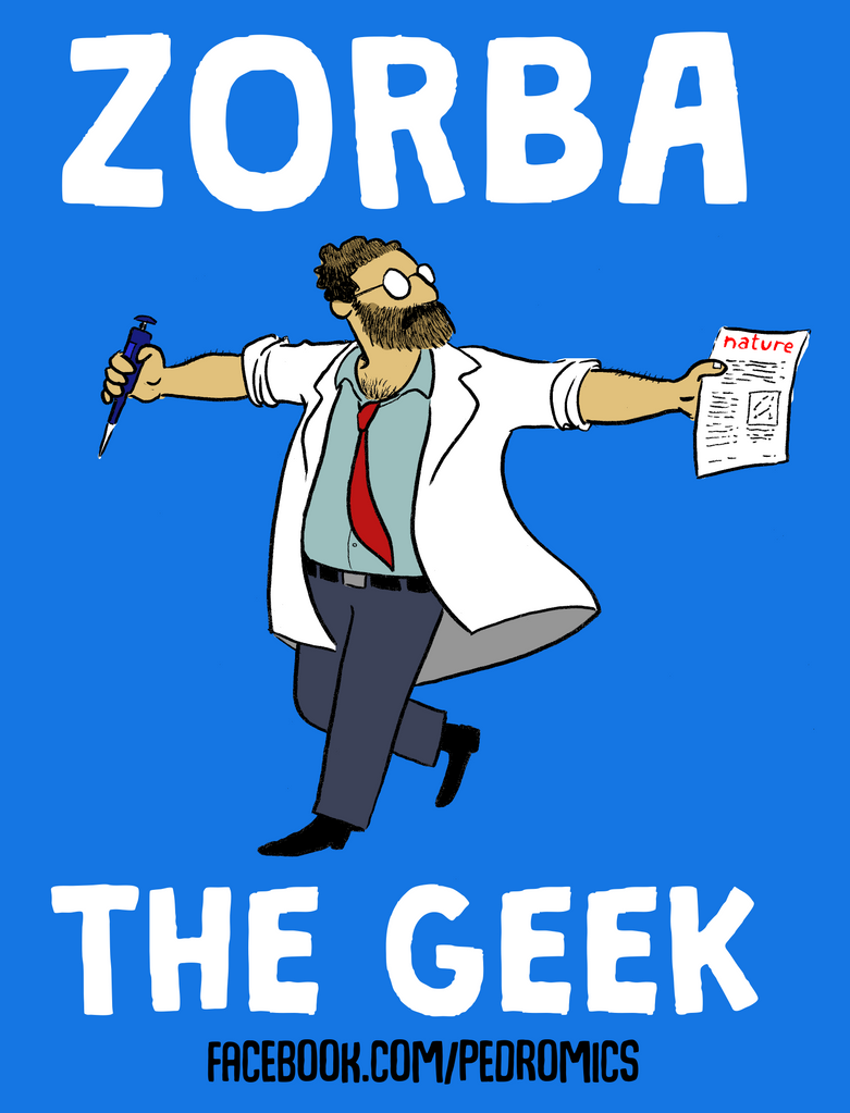 Zorba the Geek by Velica