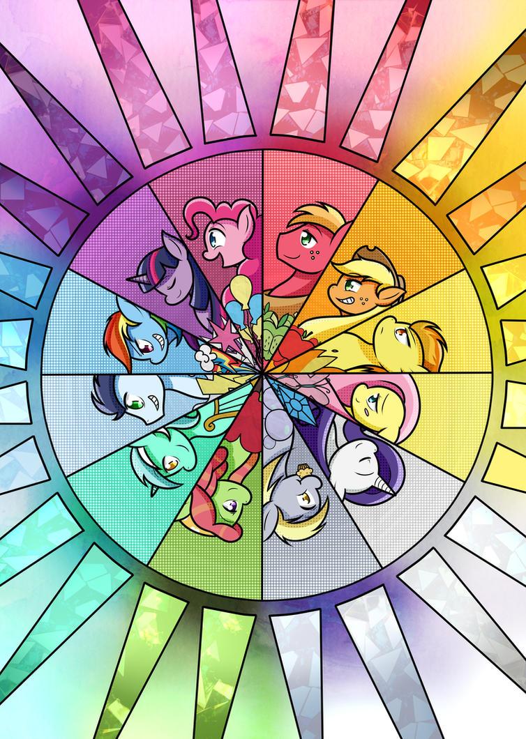 Rainbow of Friendship by Senseijiufu