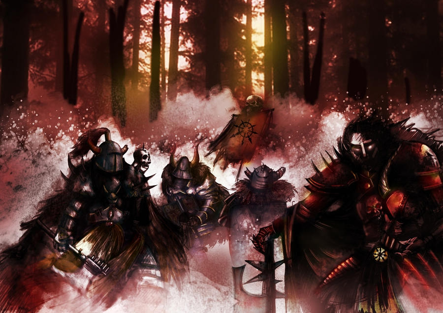 warhammer warriors by rockmyrose