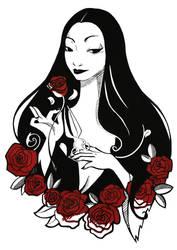 Morticia Dead Rose