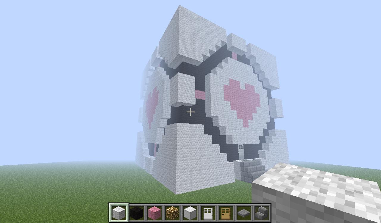 minecraft companion cube by hellsing fanatic 8 on deviantart