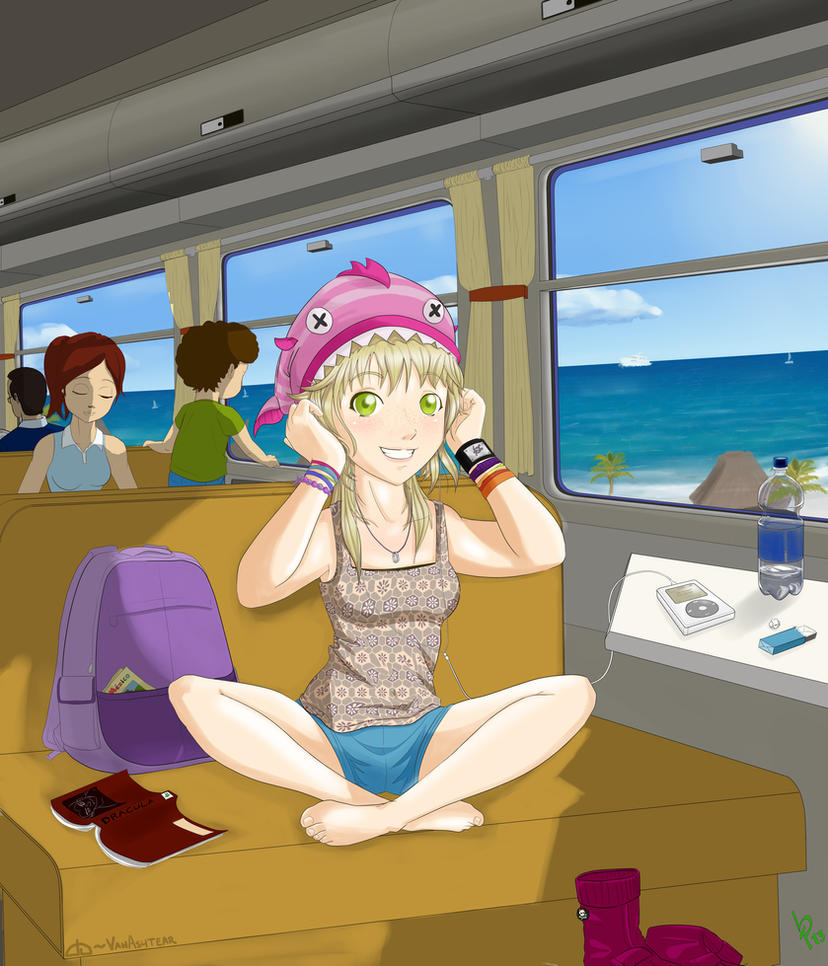 Train Bon Voyage by VaNAsHtEaR