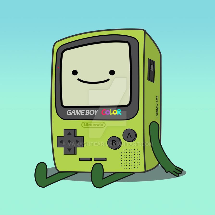 BMO- Gameboy color by VaNAsHtEaR on DeviantArt