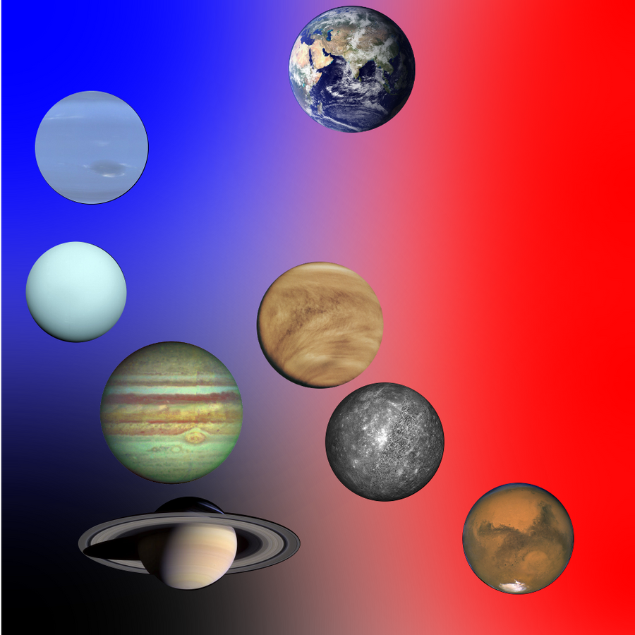 Planetary colors
