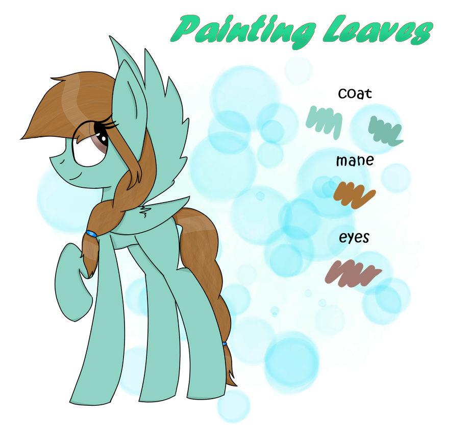 Reference Sheet : painting leaves by rai2n