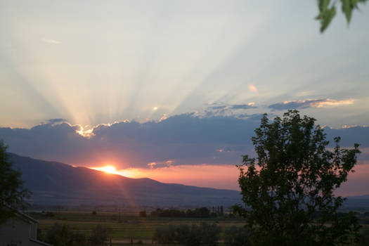 Wellsvilles Sunset