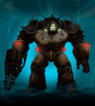 Bioshock Big Daddy Concept