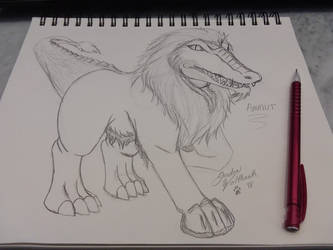 WIP - Ammut by Shadow-of-the-Wolf