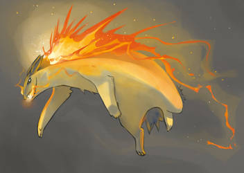 HELL YEAH, TYPHLOSION by Vhu
