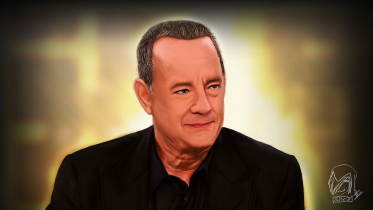 Tom Hanks by Whatanidiotlololol