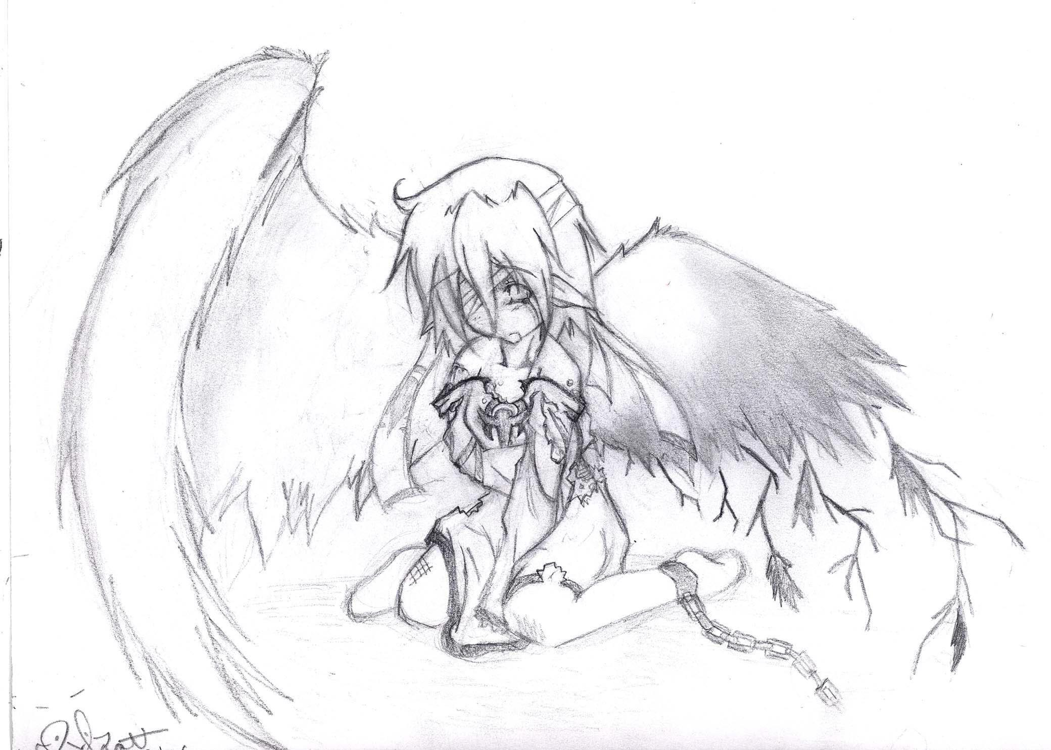 Fallen angel by otaku bunny on deviantart fallen angel by otaku bunny altavistaventures Image collections