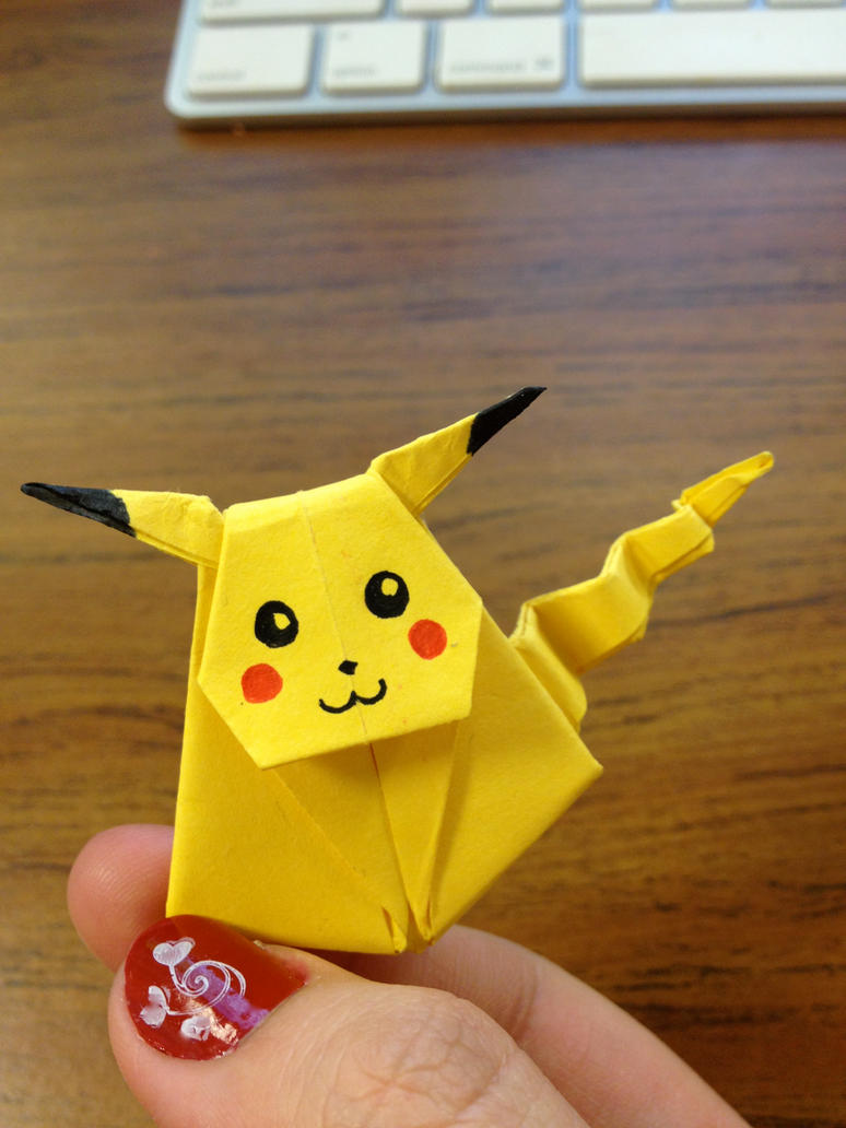 Pika Bookmark for the Pika Master by sandibeans