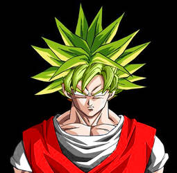 Goku Legendary Super Saiyan by ruky1024